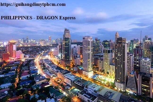 gửi hàng đi philippines tại tphcm - Gửi hàng đi Philippines - Chuyển phát nhanh DRAGON Express