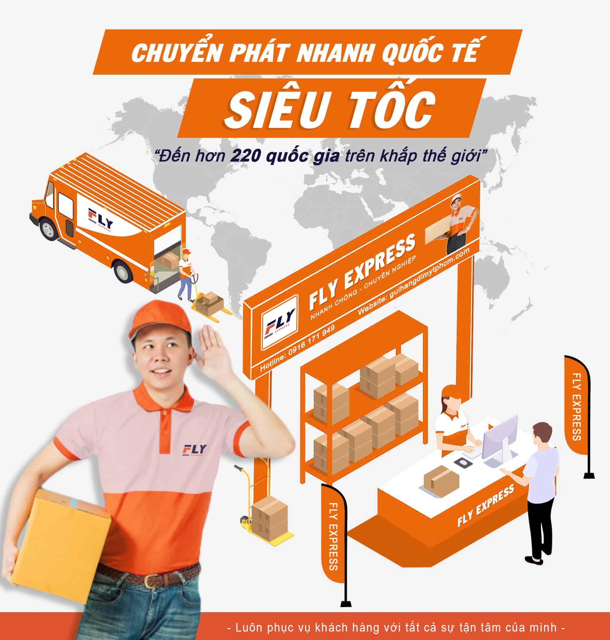 Dịch vụ gửi hàng đi Mỹ tại Huyện Hóc Môn