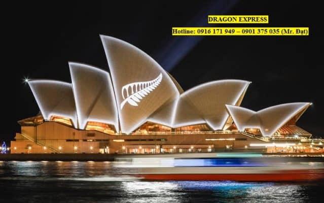 Vận chuyển hàng đi Úc ?