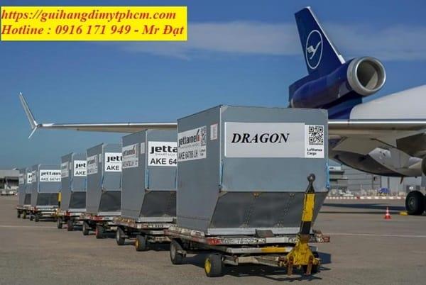 Bảng giá gửi hàng đi Mỹ của DRAGON Express