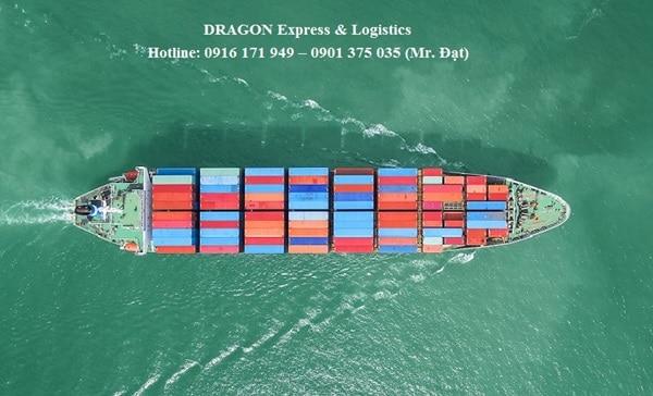 DRAGON Express chuyên nhận gửi hàng đi Mỹ bằng đường biển