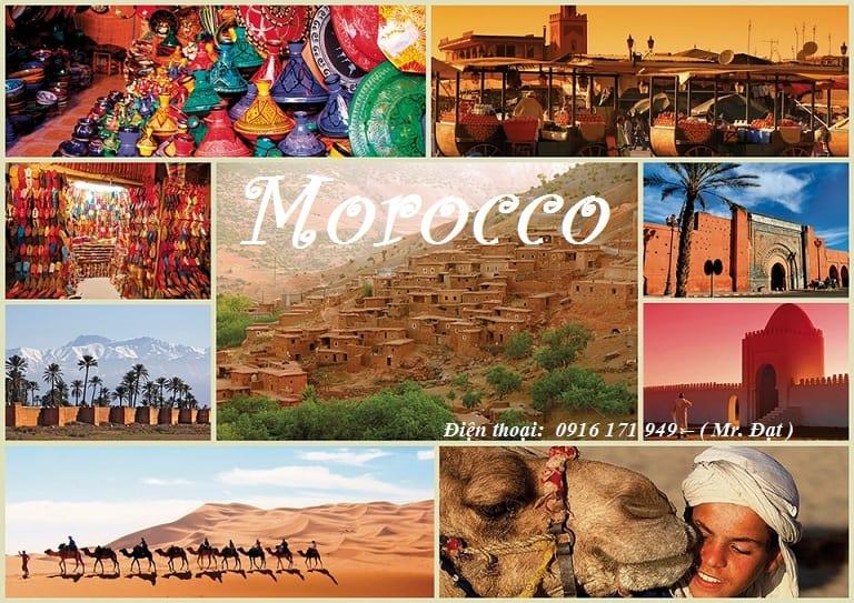 gửi hàng đi morocco