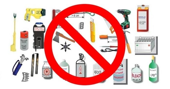Những hàng hóa gây hại cho con người, môi trường, trật tự an toàn xã hội đều nằm trong danh mục hàng cấm vận chuyển