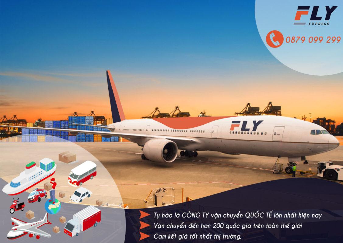 FLY Express cung cấp dịch vụ gửi hàng đi Mỹ giá rẻ, uy tín