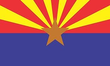 Lá cờ của bang Arizona