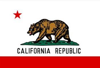 Lá cờ của bang California