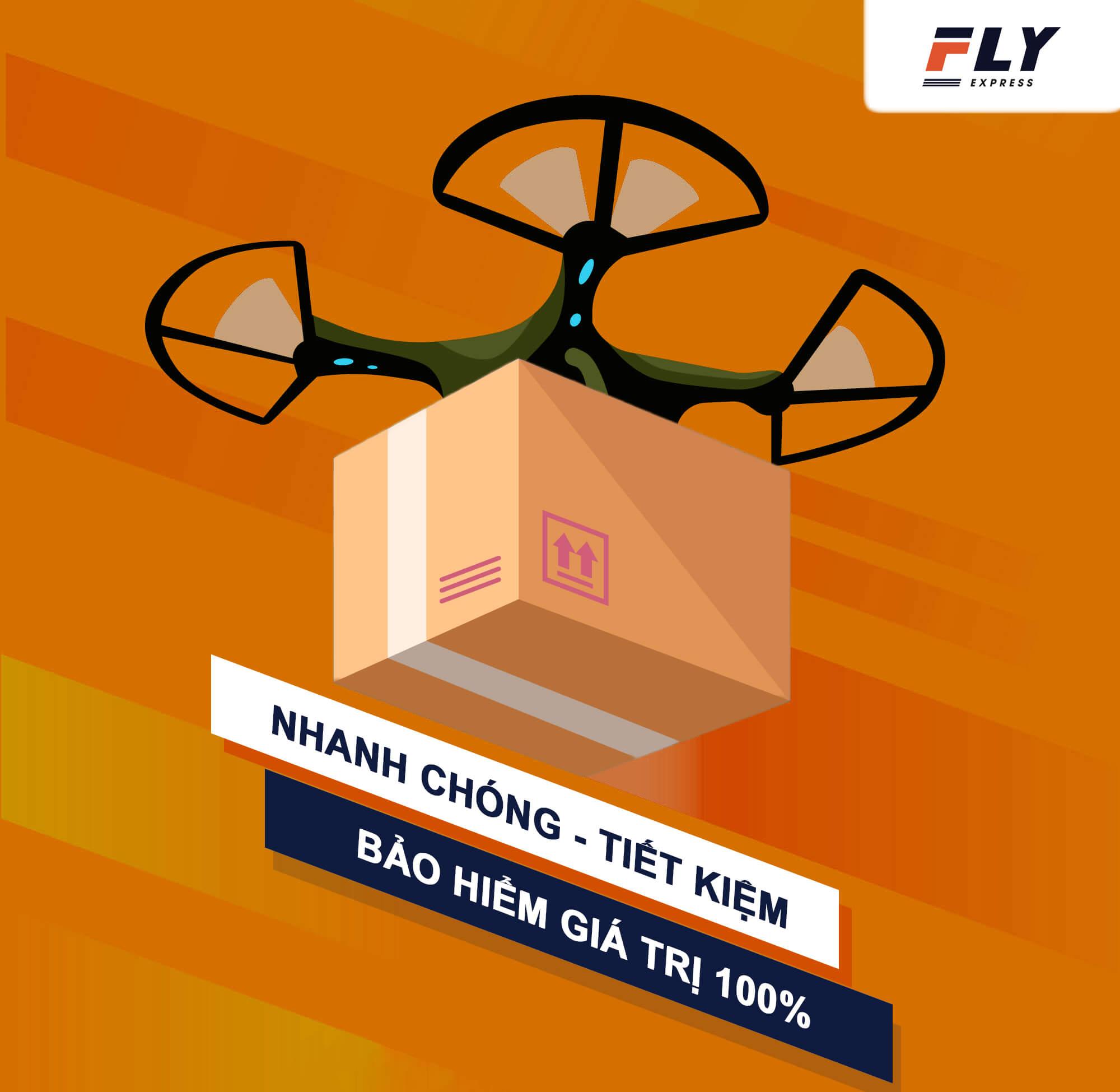 cam ket gui hang di quoc te tai fly express - Gửi hàng đi Mỹ tại Huế