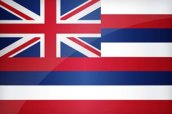 Lá cờ của bang Hawaii