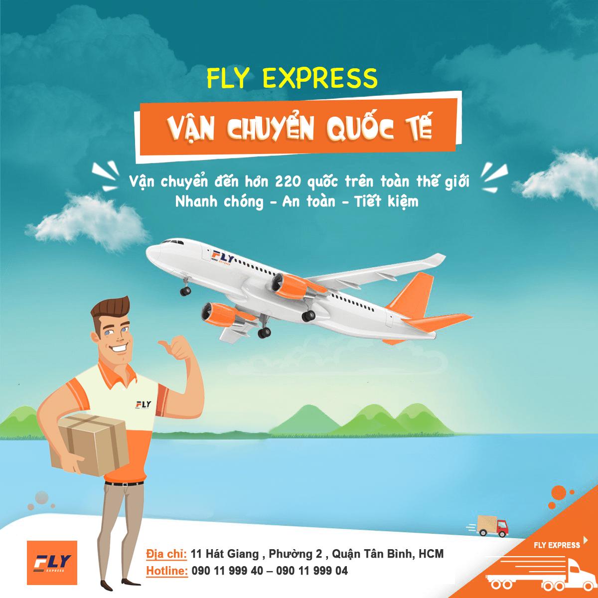 vận chuyển quốc tế fly express